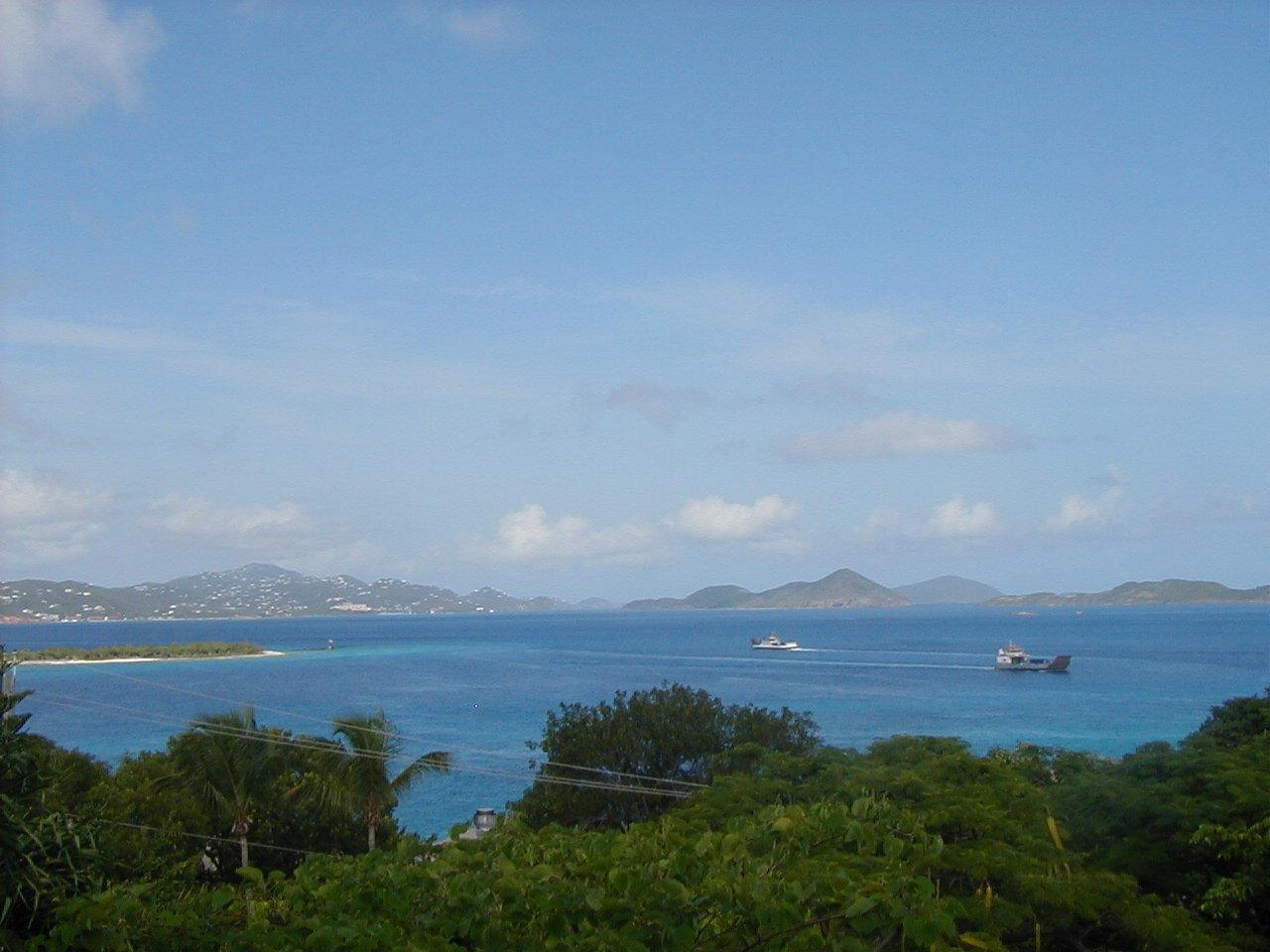 Views from site of St. Thomas