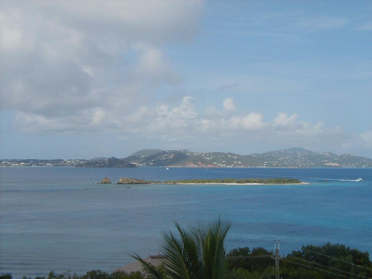 Higher elevation views of St. Thomas