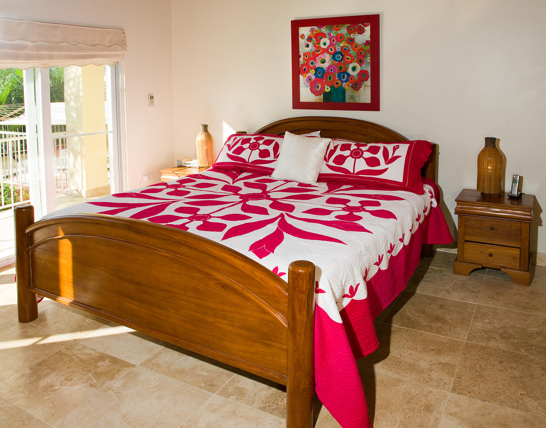 Lower level King Bed