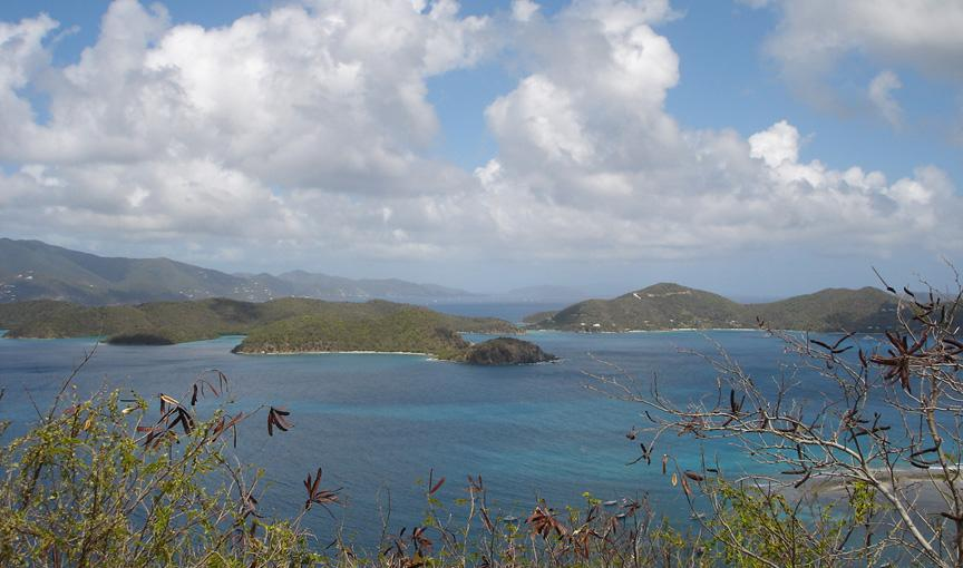 VIEW TO EAST END AND BVI
