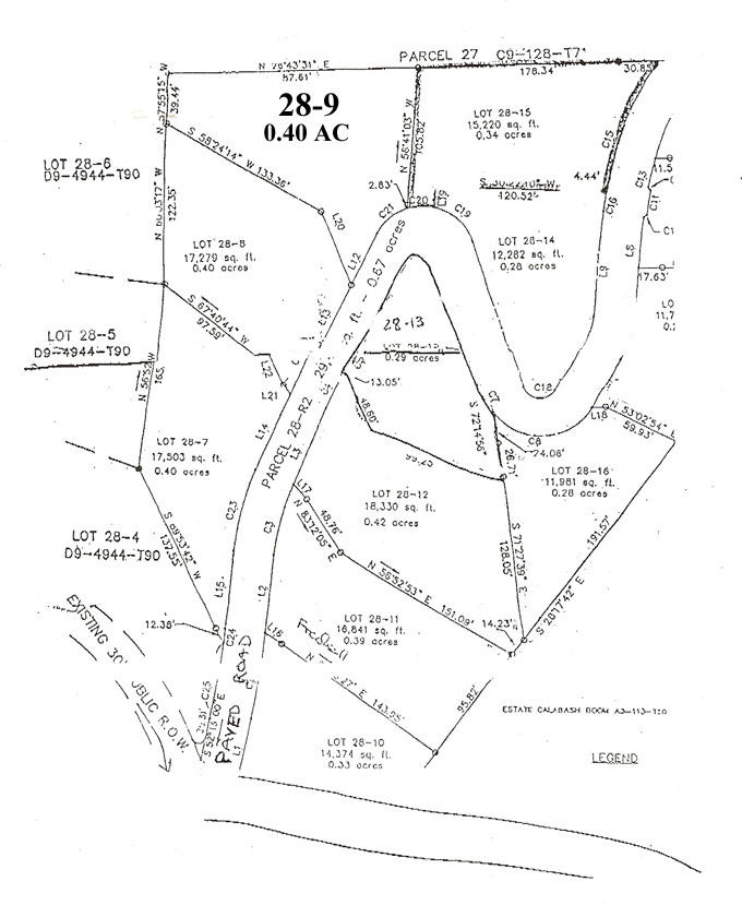 SUB DIV MAP