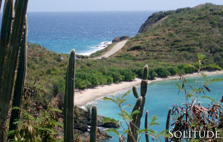 Solitude - common sandy beach