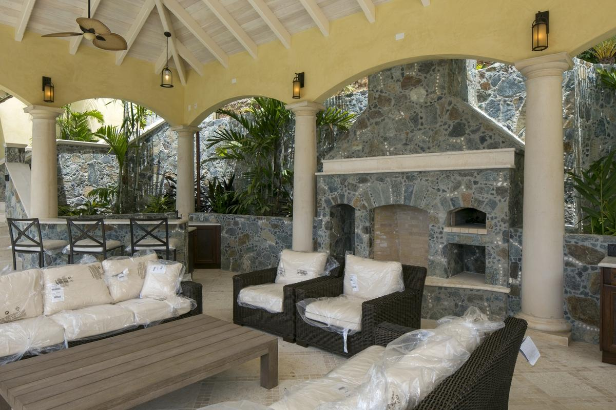 Veranda Fireplace