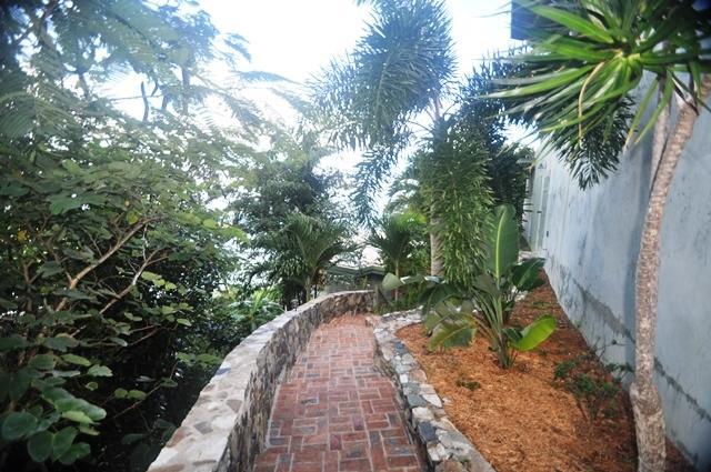 Walkway to Lower Home