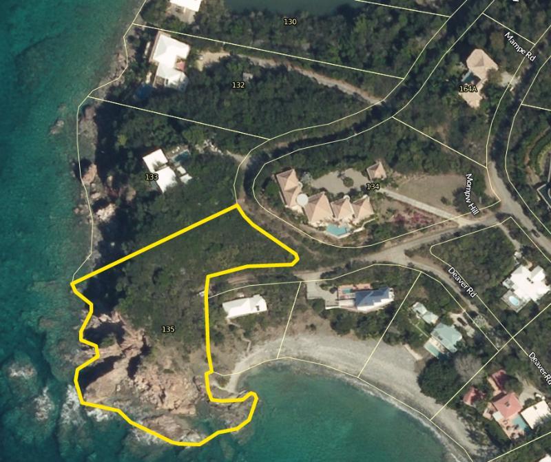 135 CH aerial location
