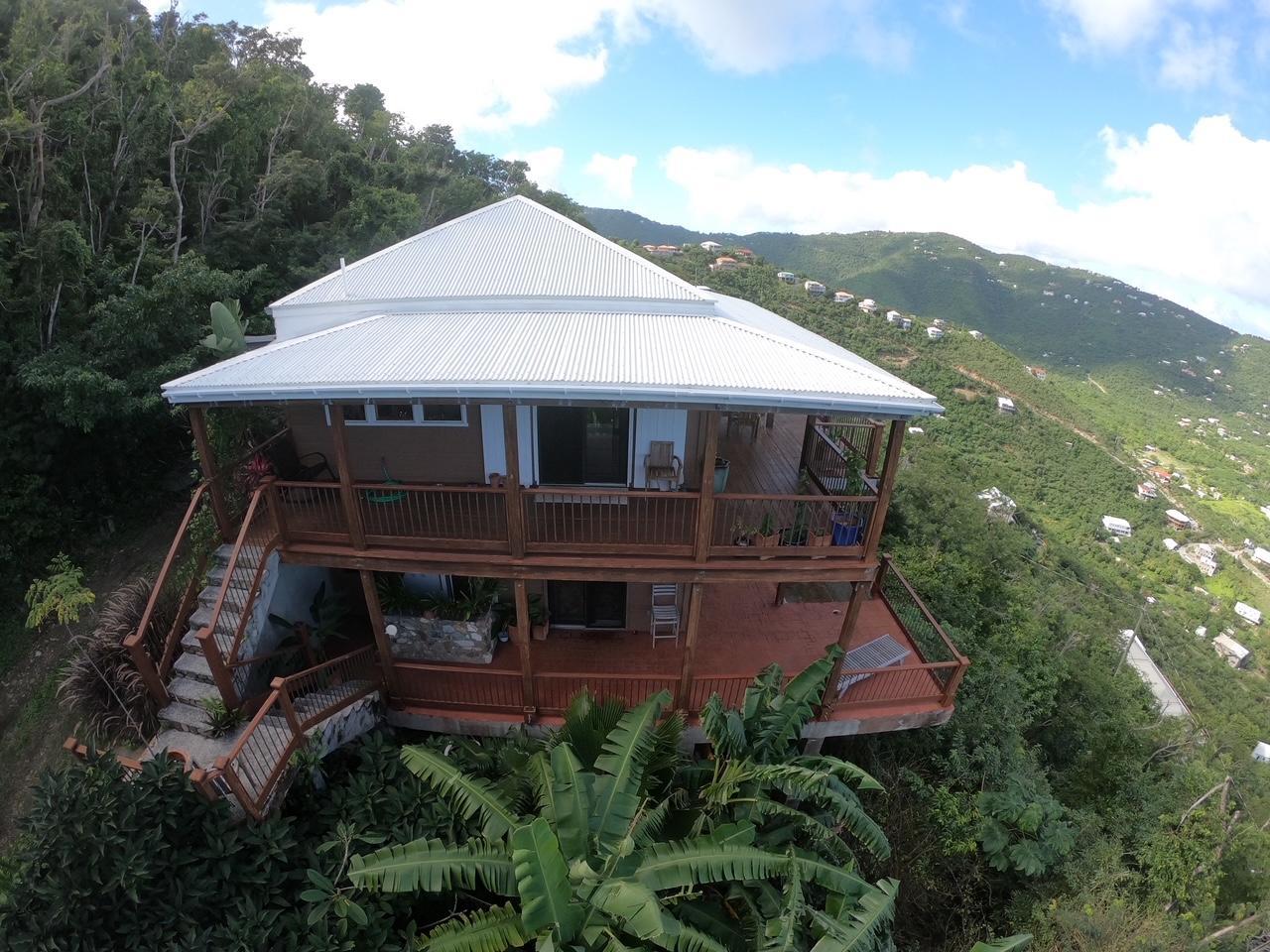 Hurricane Hole & BVI views