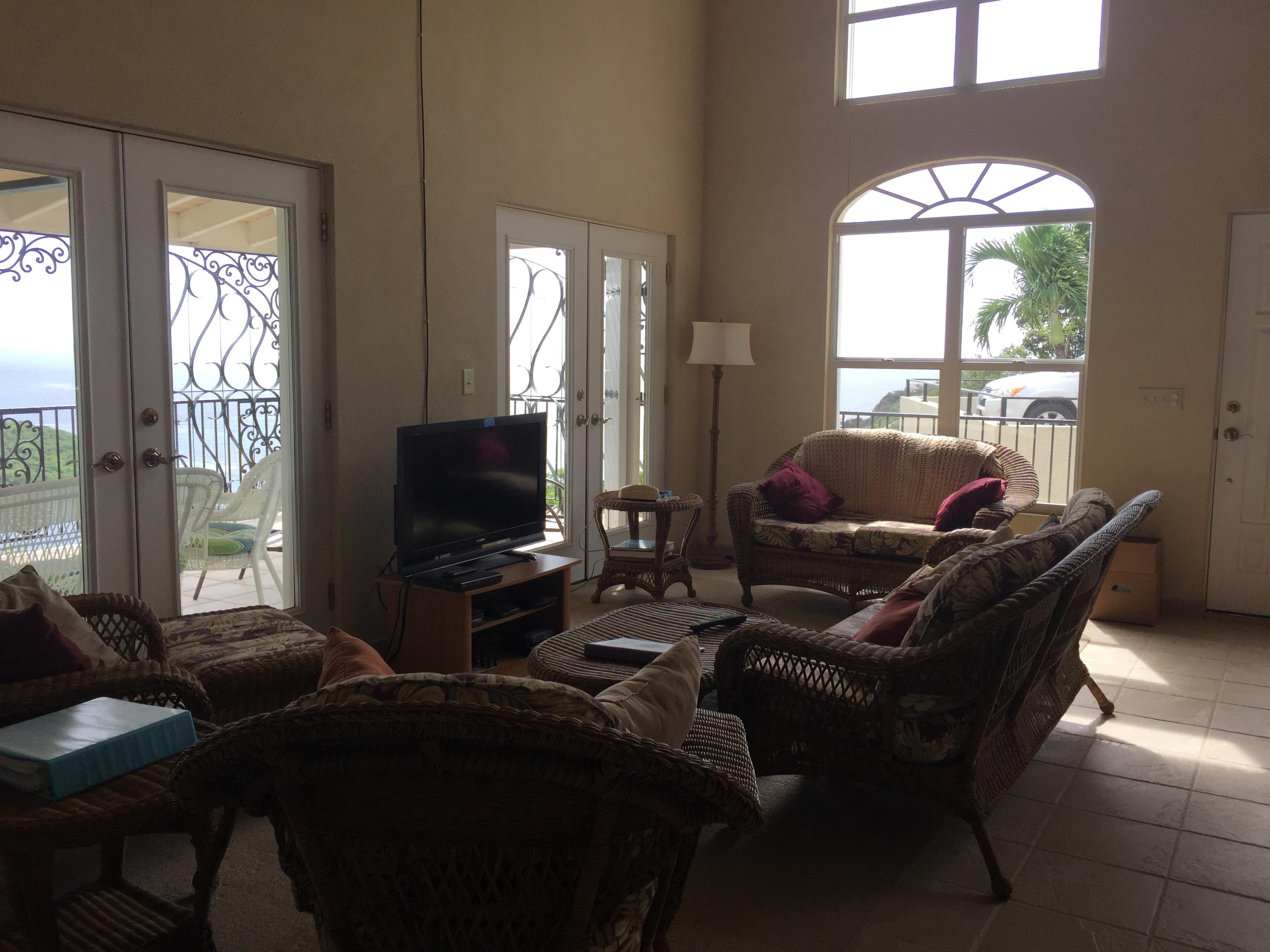 Living part of great room