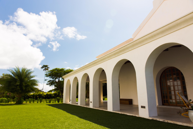 A maintenance-free courtyard
