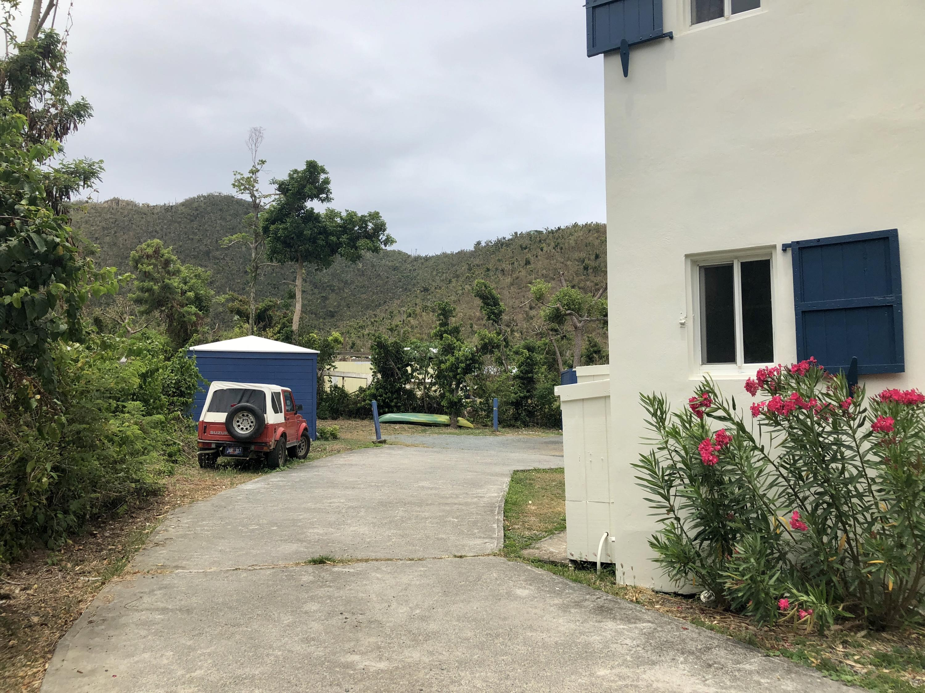 Driveway with Ample Parking Space