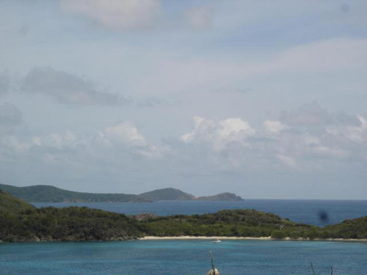 VIEW OVER RENDEZVOUS BAY TO RAM HEAD