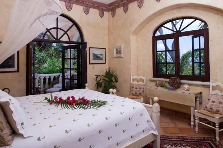 Poolside Guest Bedroom