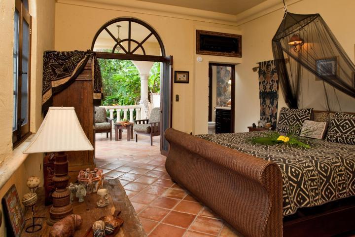 Poolside Bedroom Suite