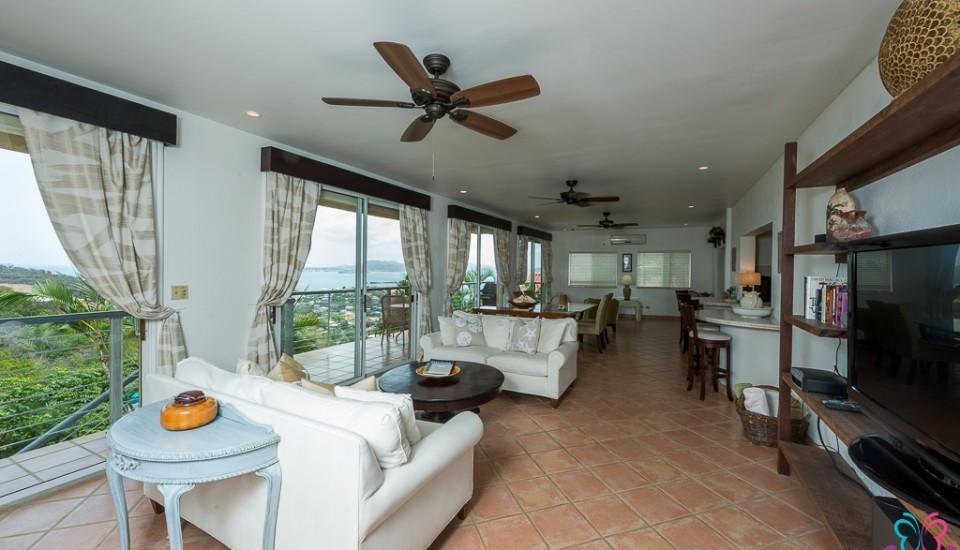 Mandavilla Rose Great Room