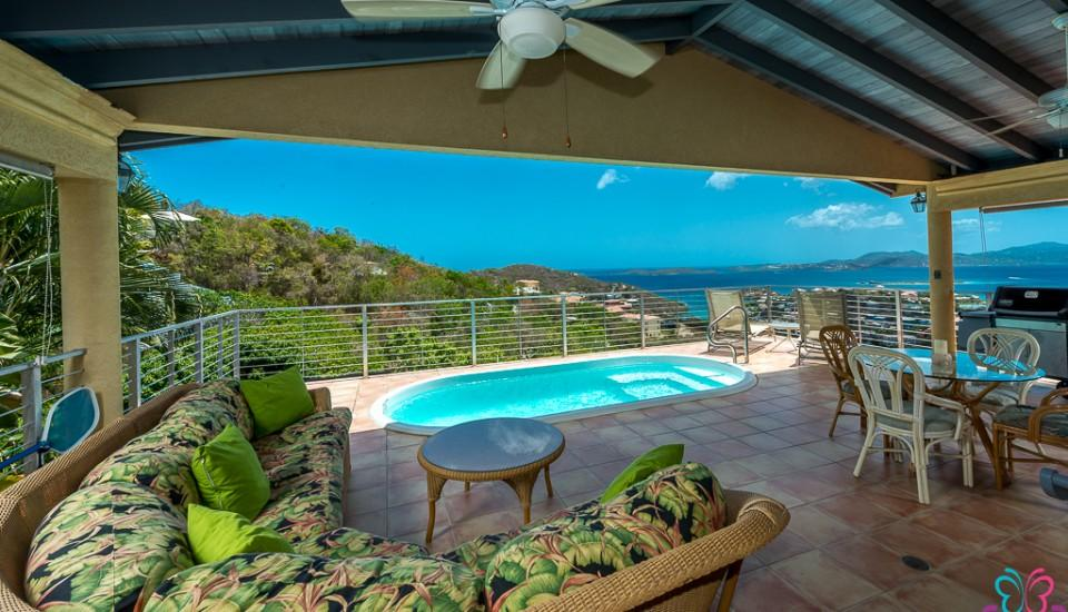 View and verandah