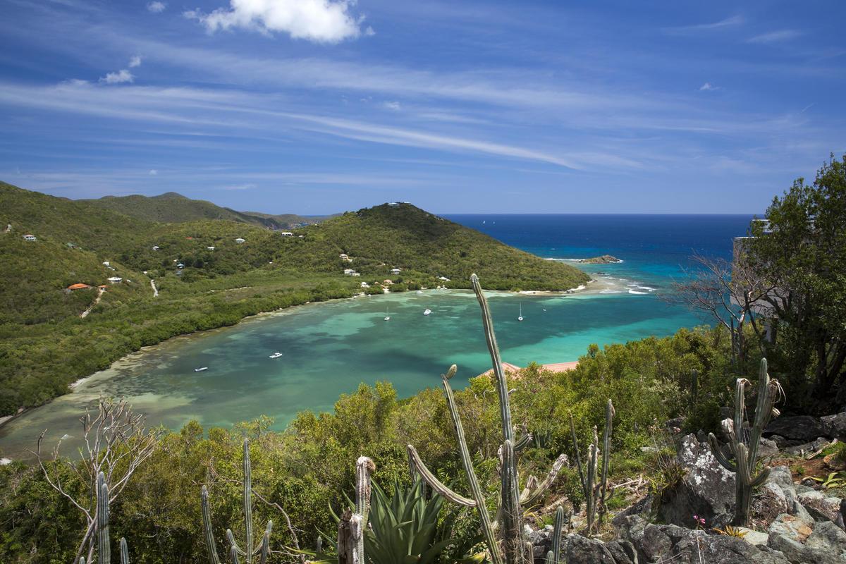 Views of Fish Bay and the sea