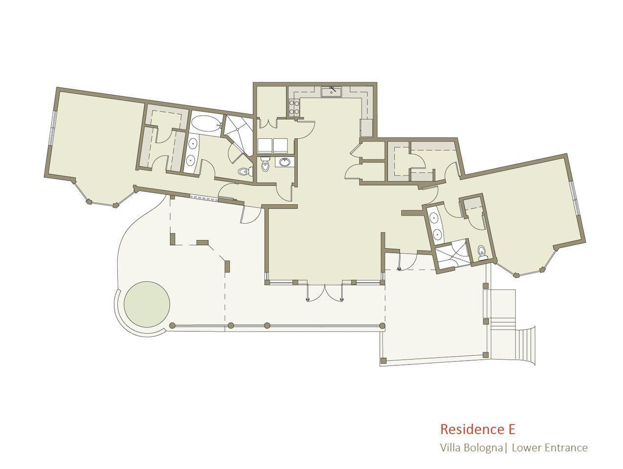 E Floor Plan