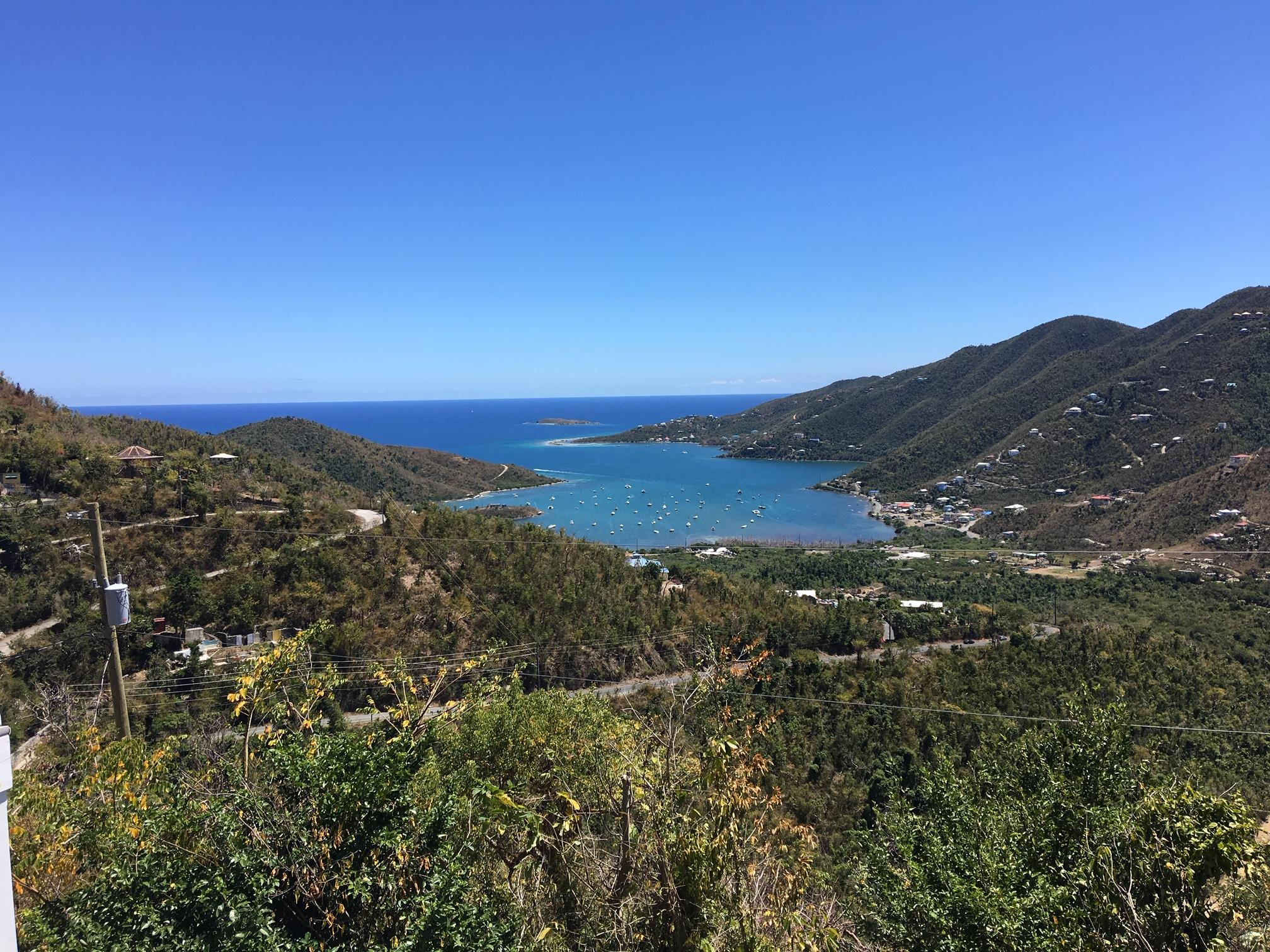 Direct view of Coral Bay