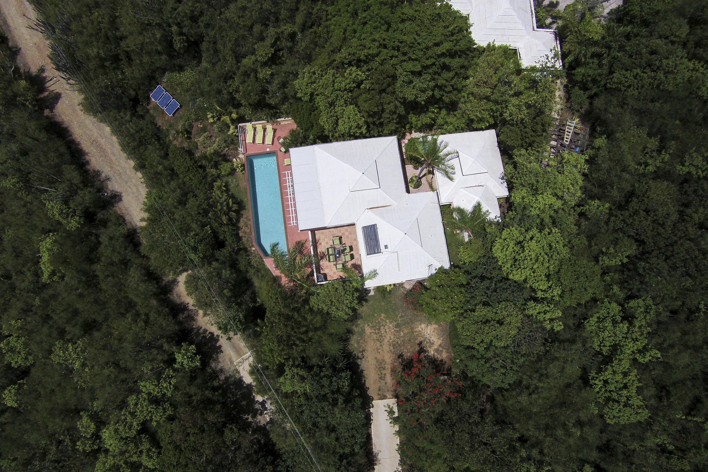 Westin St John Resort access to left