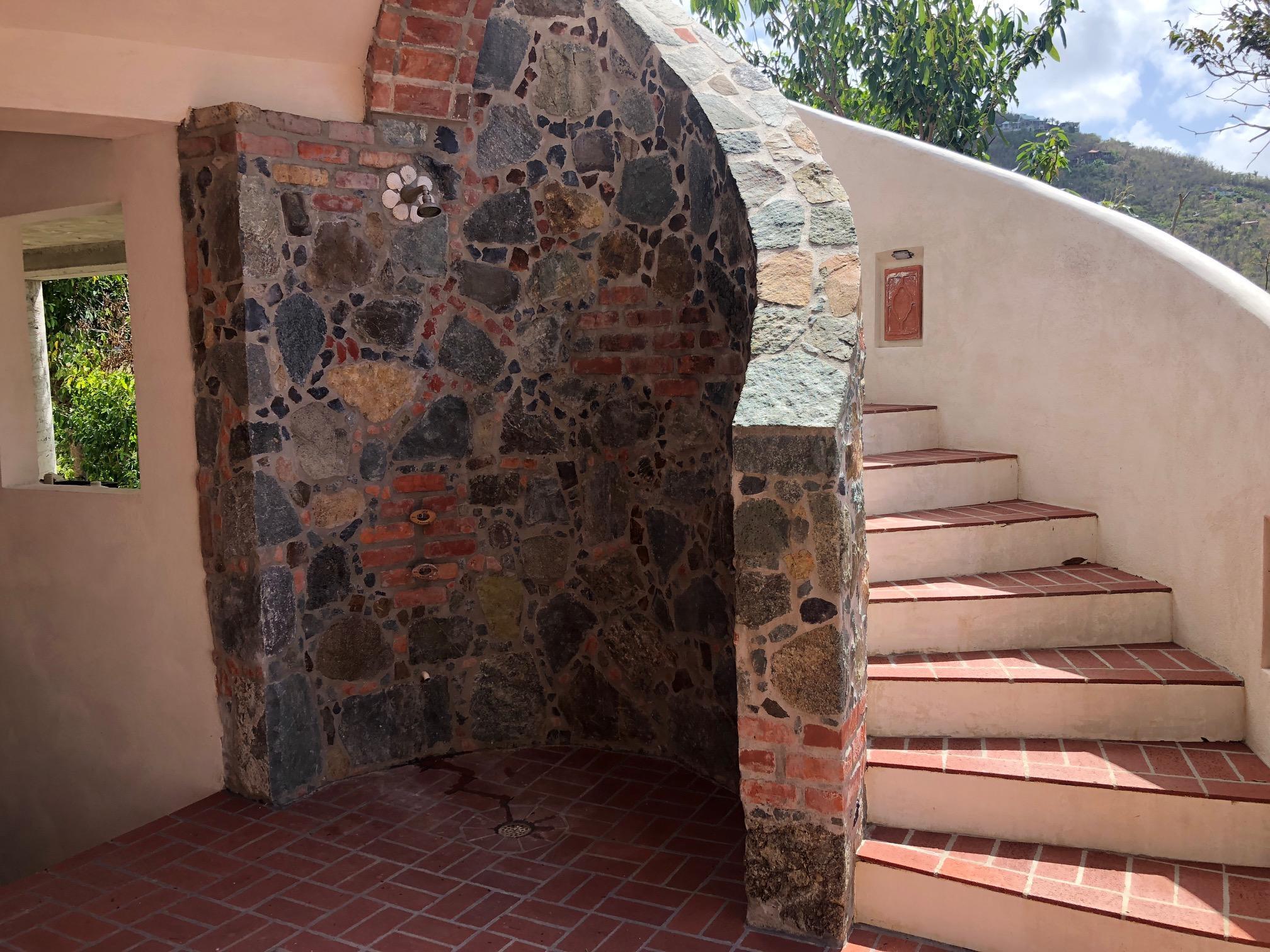 upper level entry