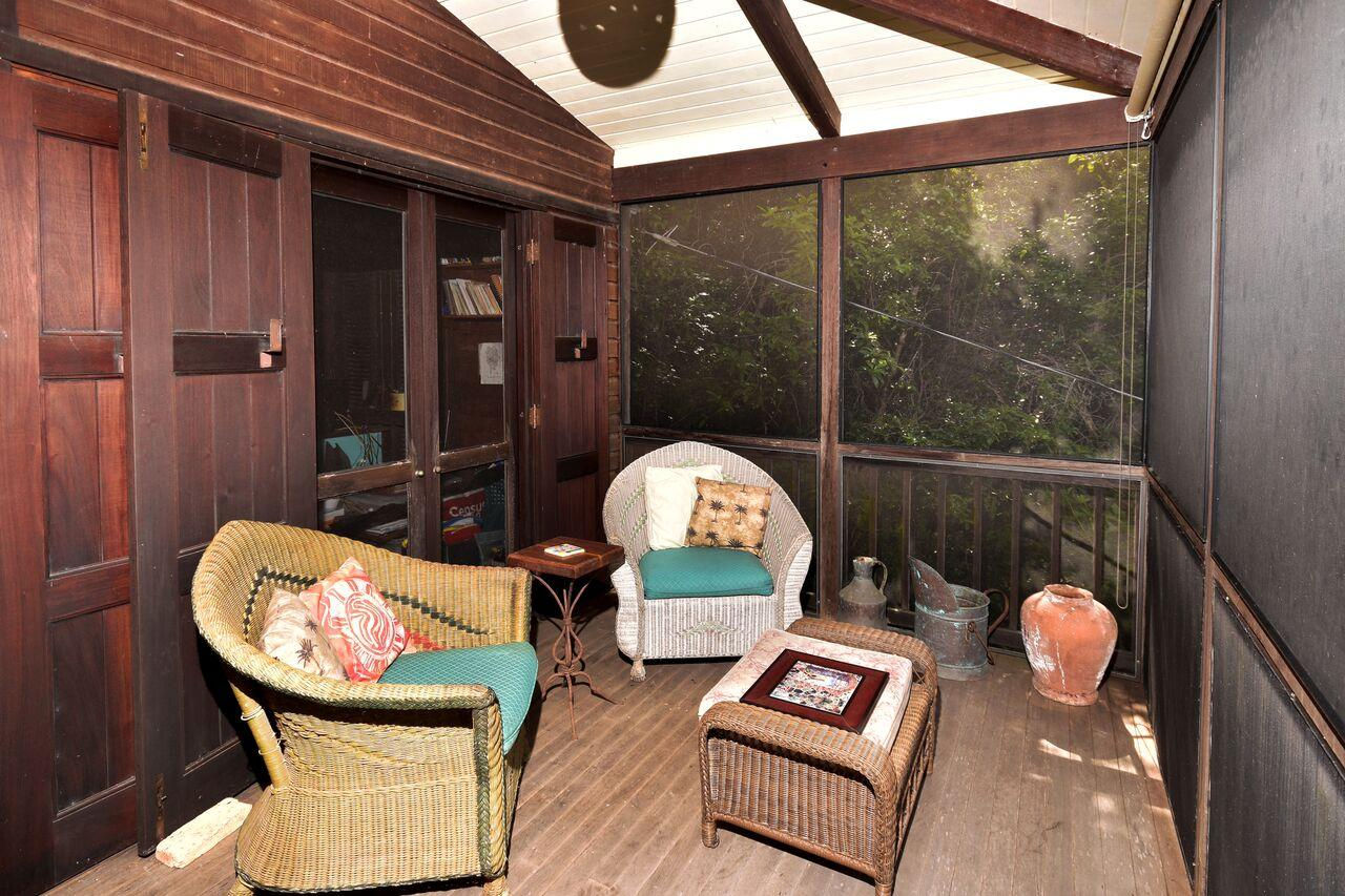 upper porch