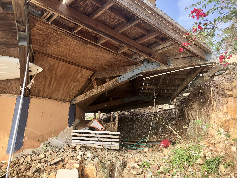 Foundation Beneath the Cottage