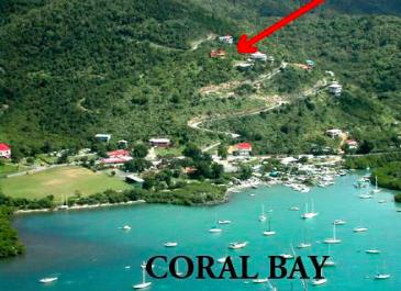 In the heart of Coral Bay