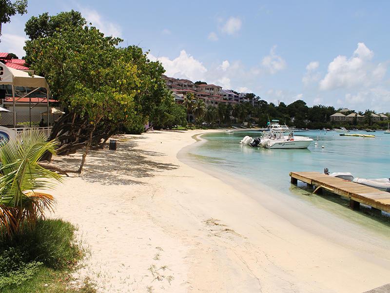 Cruz Bay Beach