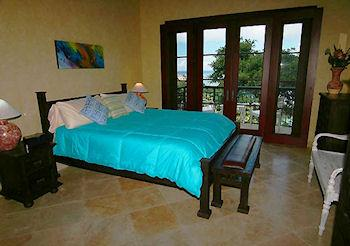 Guest bedroom in main
