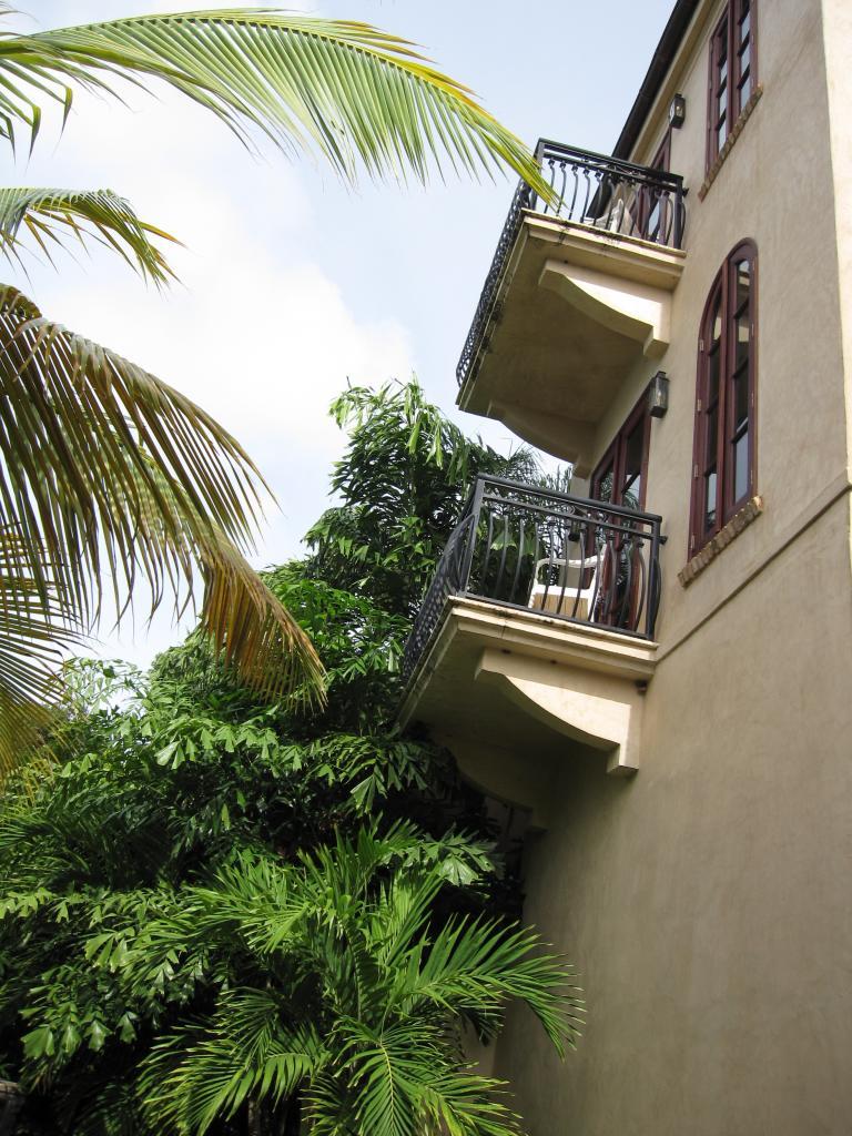 Tower balconies
