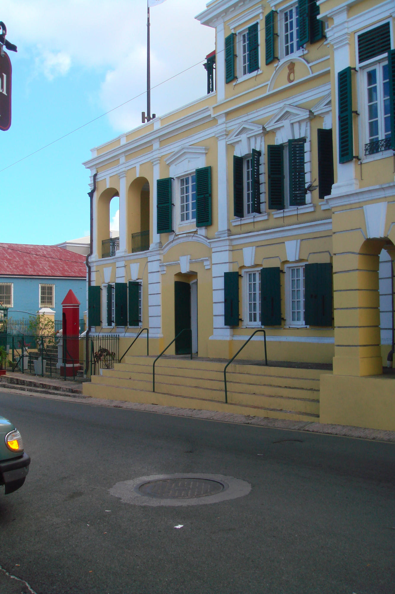 Government House across the street