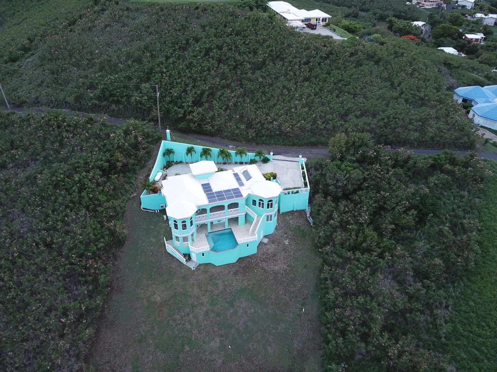 Aerial of Villa La Viridian