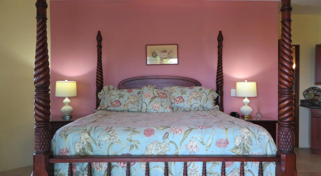 Beautiful furnishings in guest room (2)