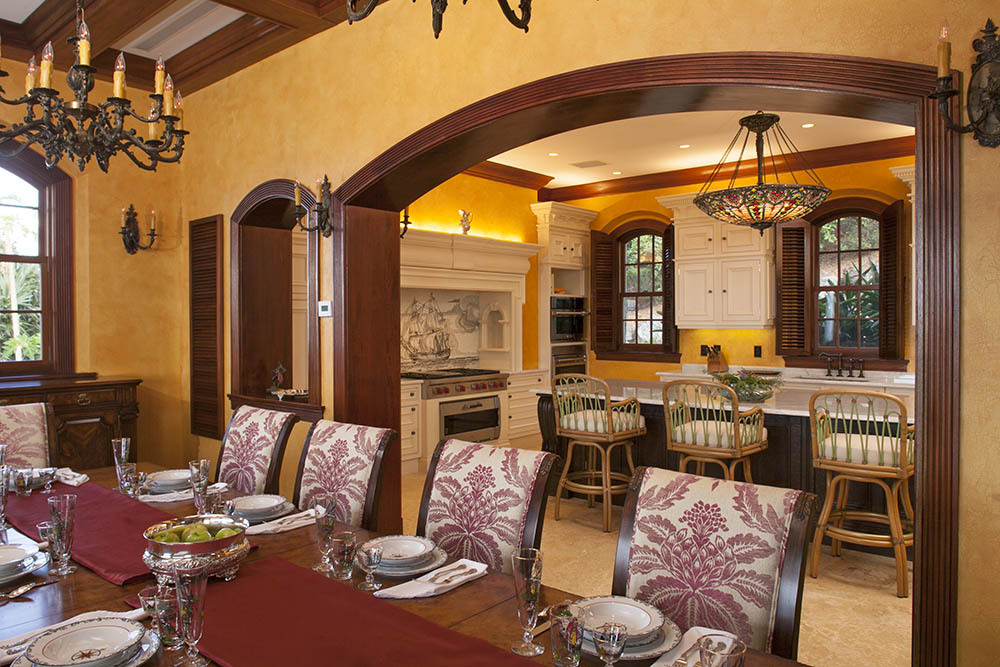 Formal Dining and Kitchen