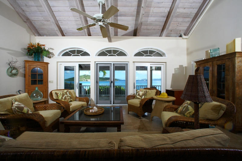 Living Room w spectacular views
