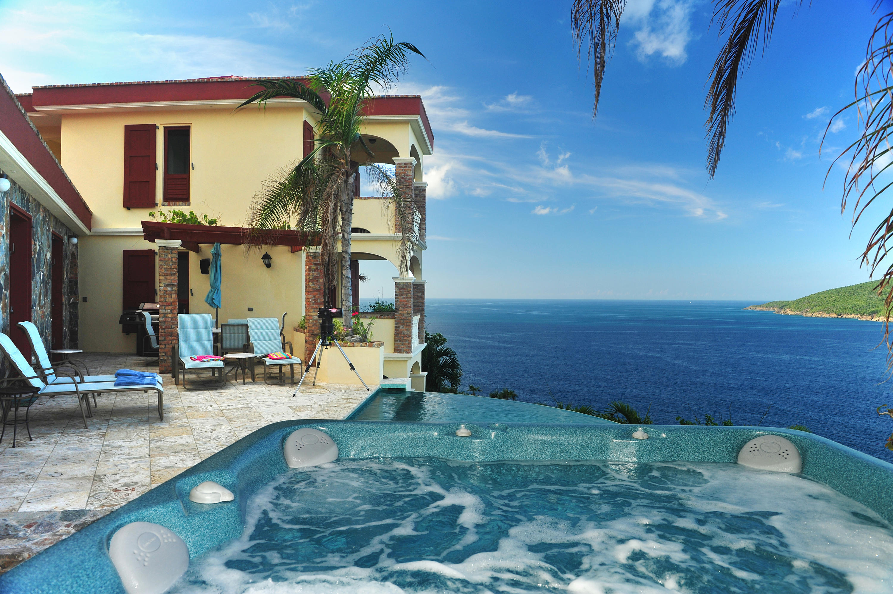Jacuzzi with View