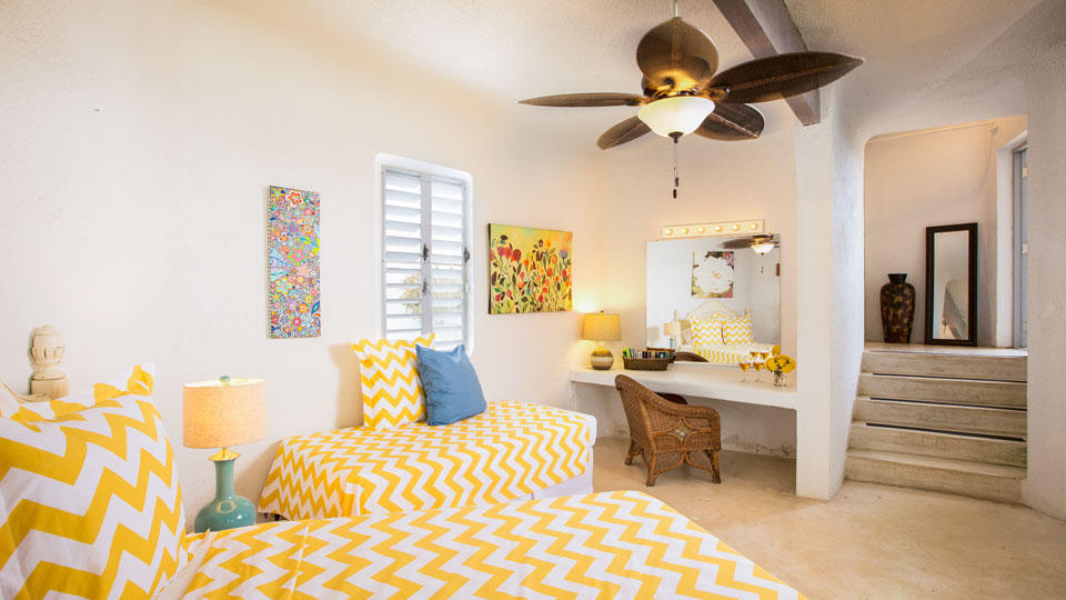 Bright and Airy Third Bedroom