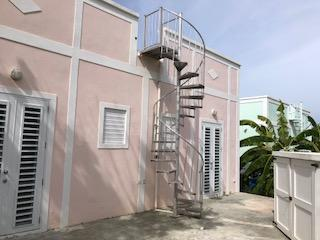 Spiral Staircase to Roof Patio