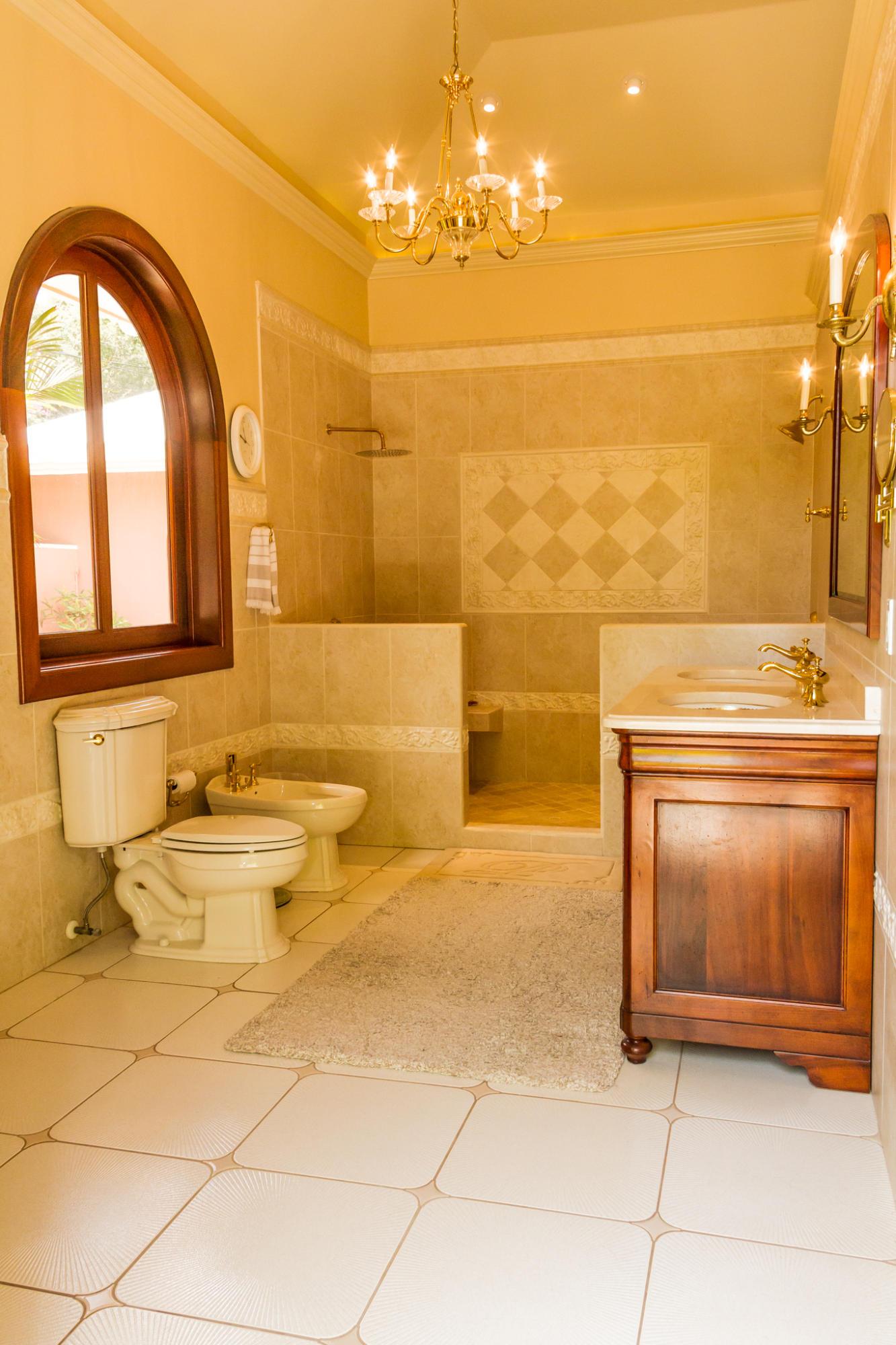 Elegant on suite bath