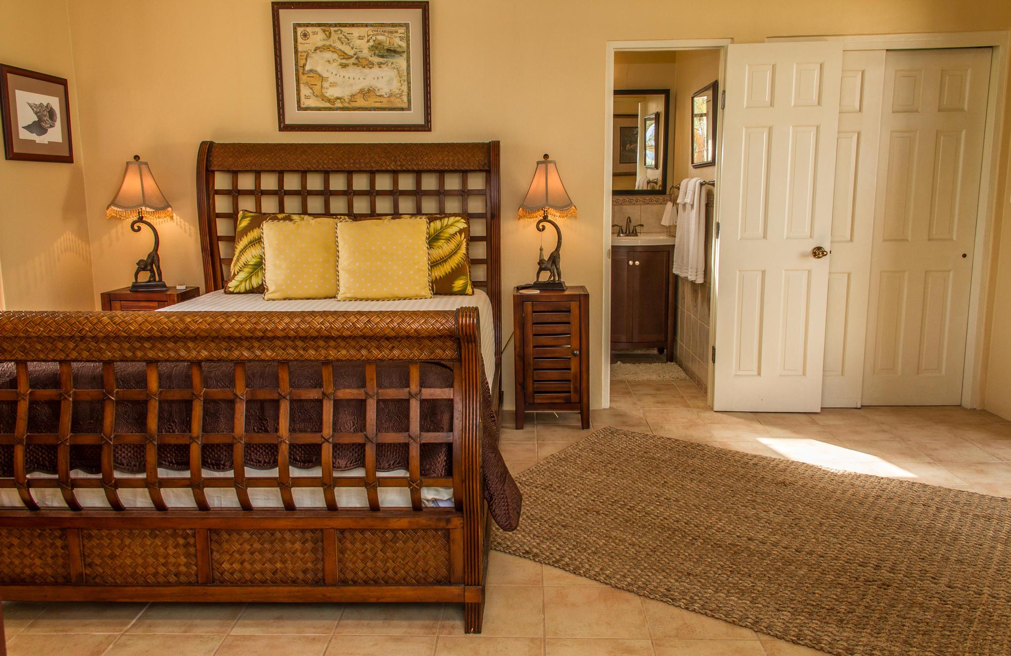 Spciaous guest suite