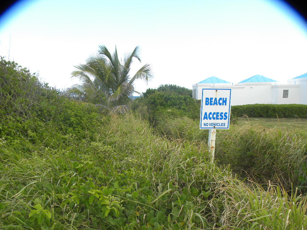 Beach access is at next corner