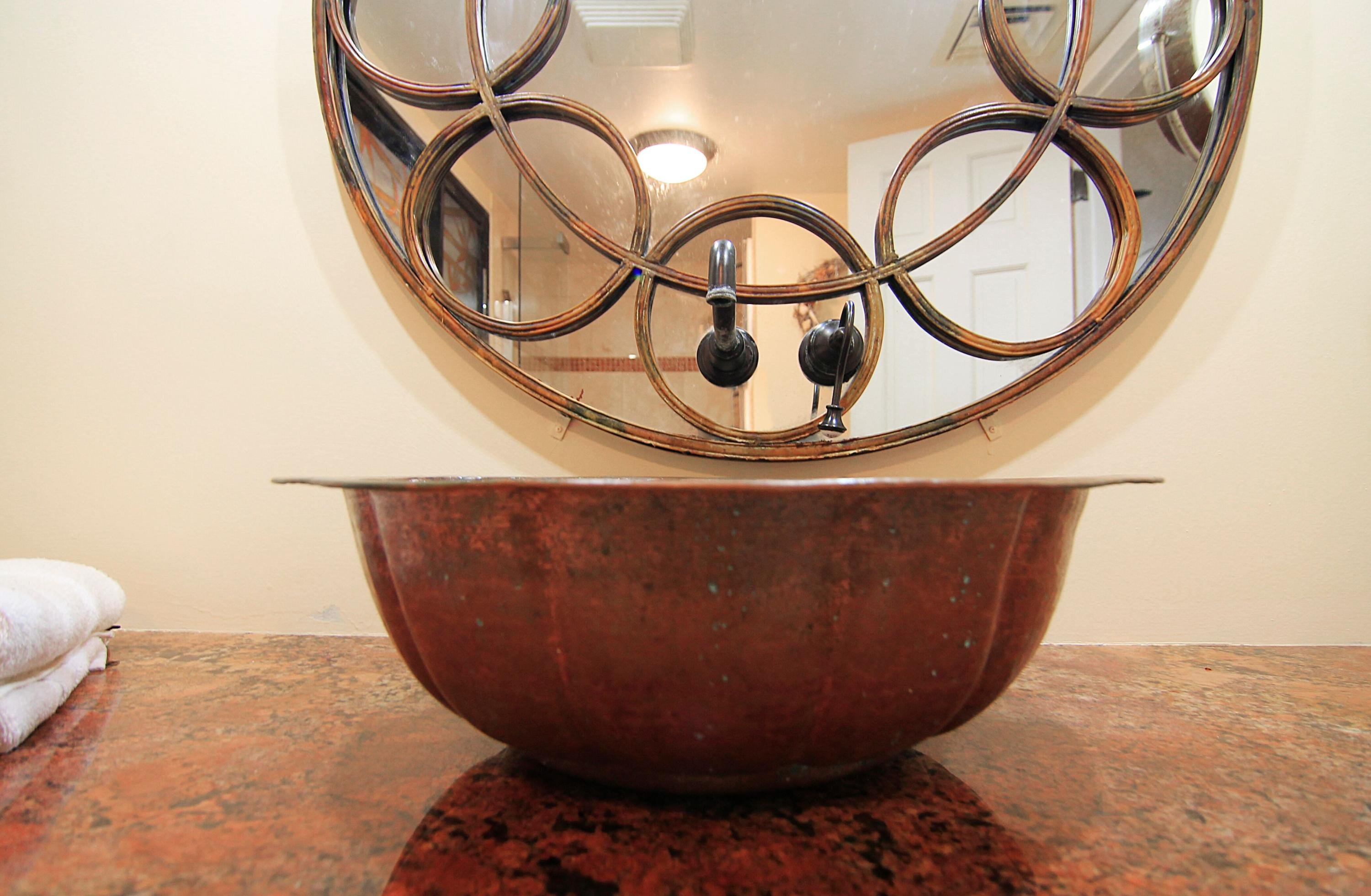 Copper Vessel Sink - Beautiful!