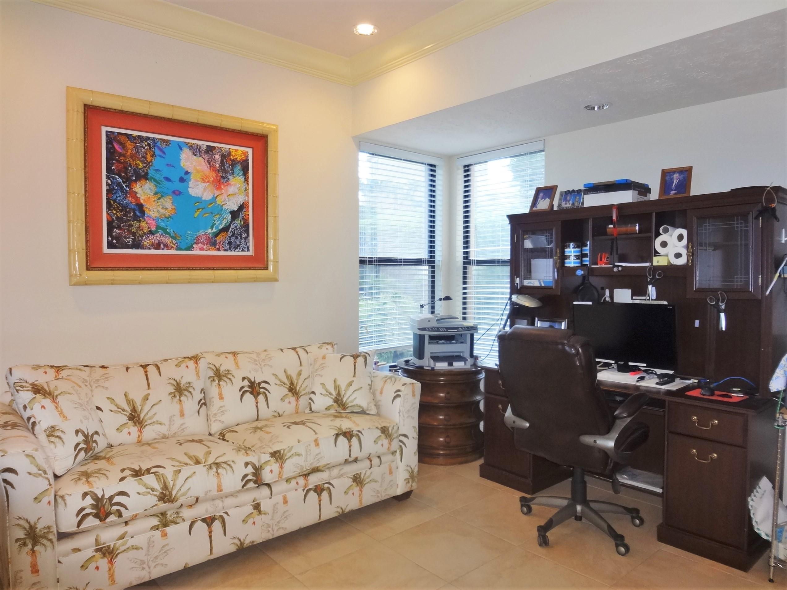 Huge Office/Den Area