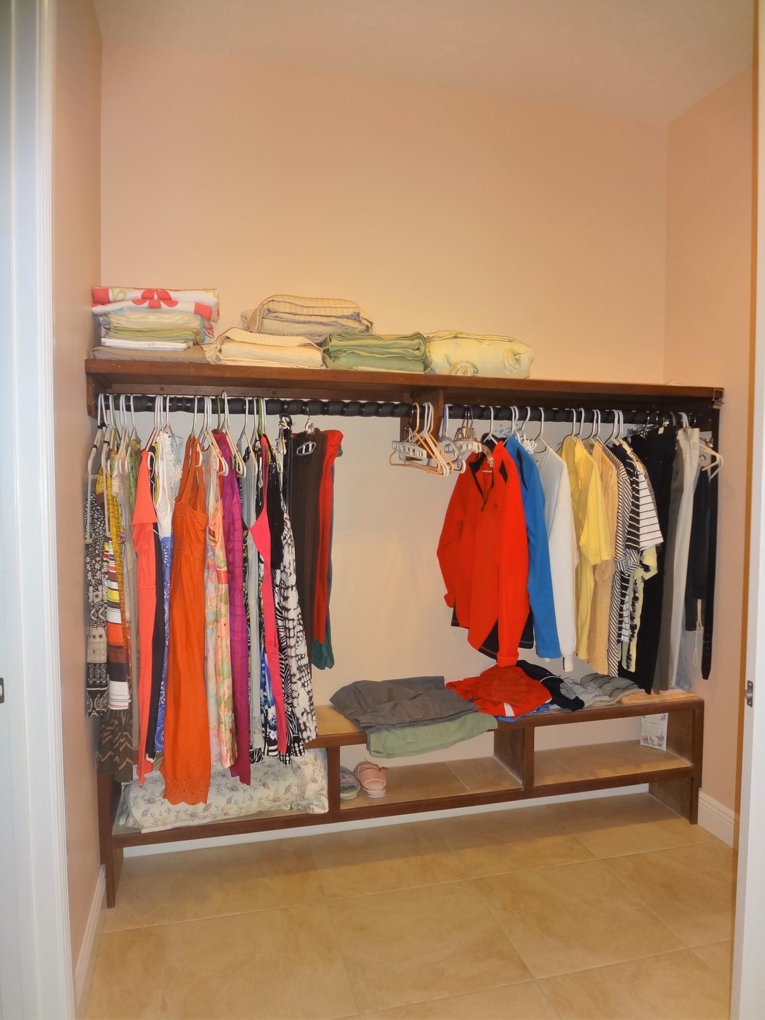 Dual Hung Closets in Upstairs Master