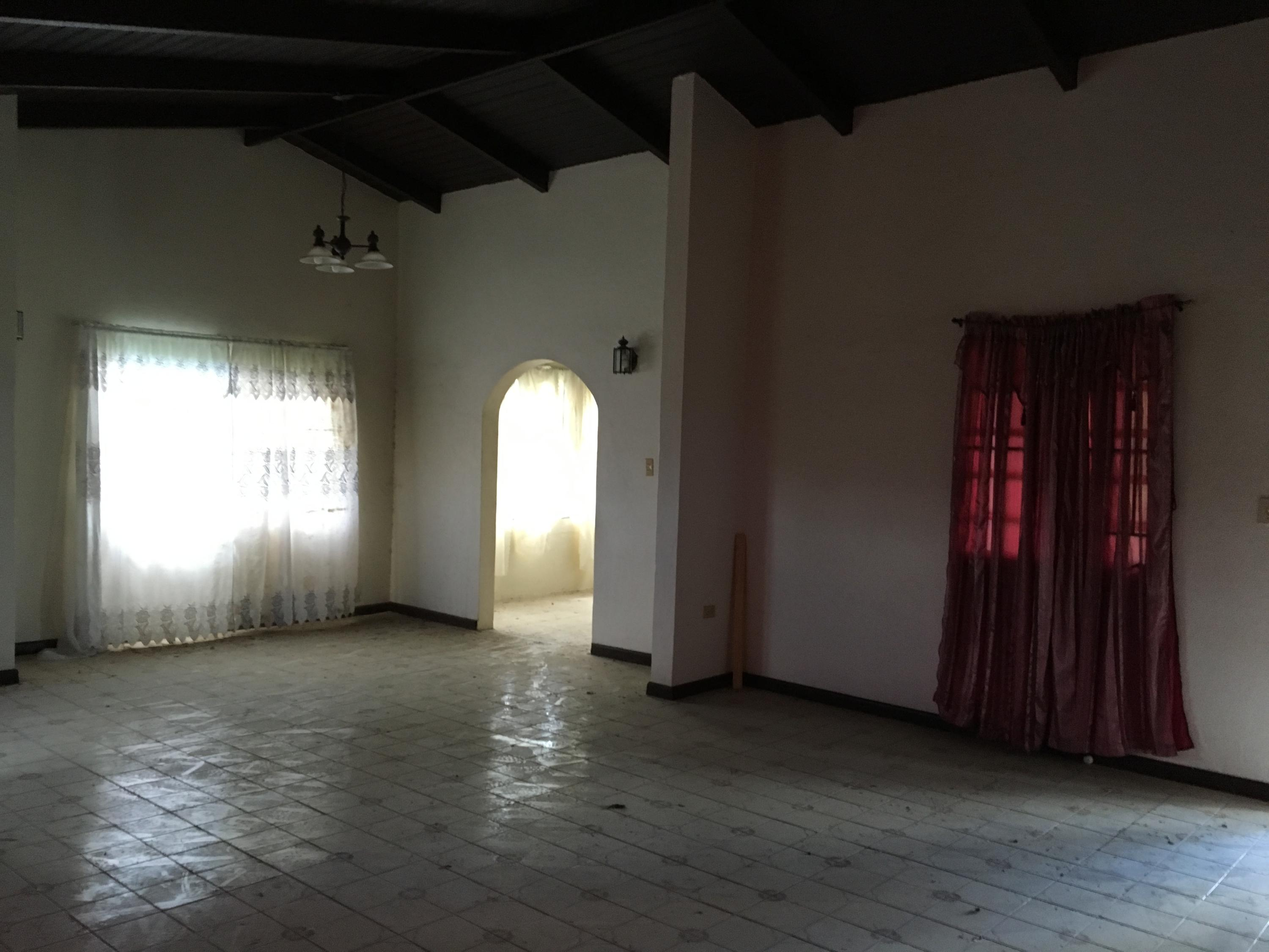 Pre Hurricane: Living and Dining room