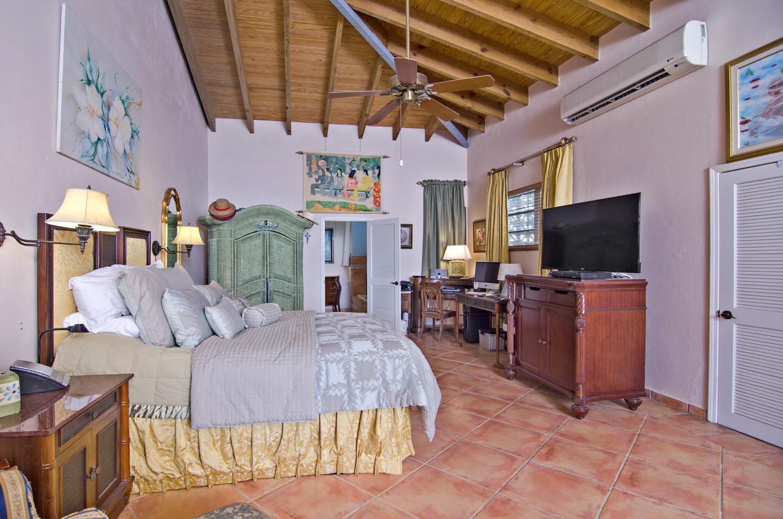 Enviable oversize master bedroom.