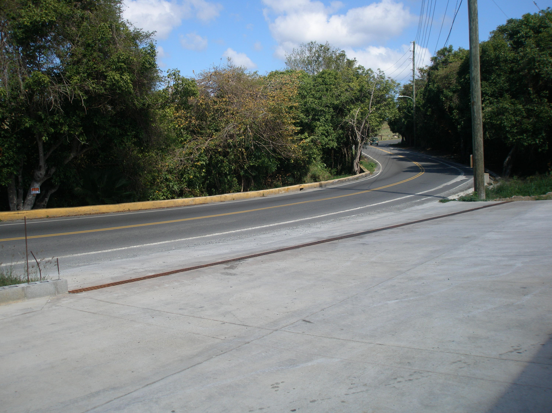 entrance off Smith Bay Road