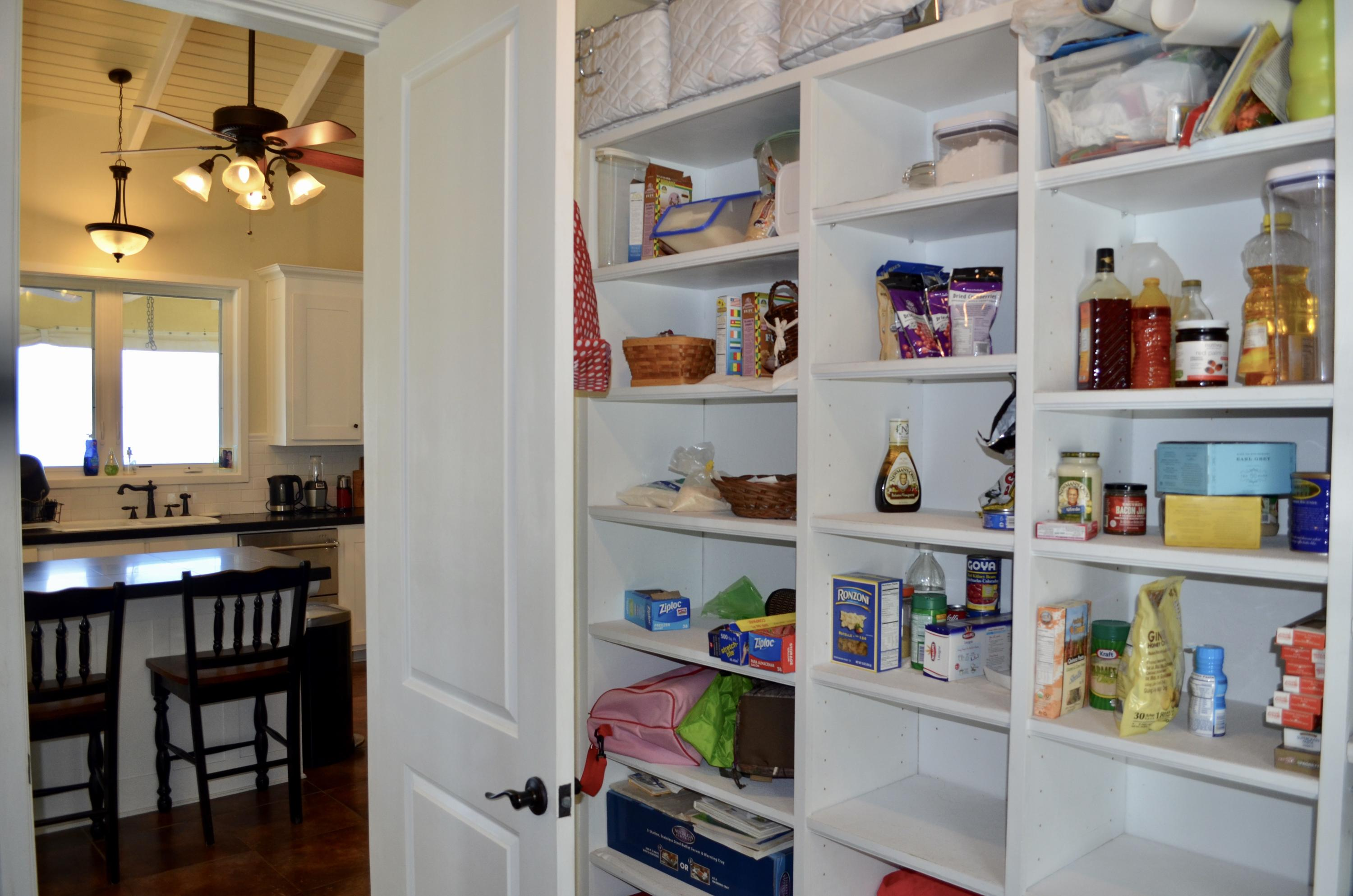 Pantry to Kitchen