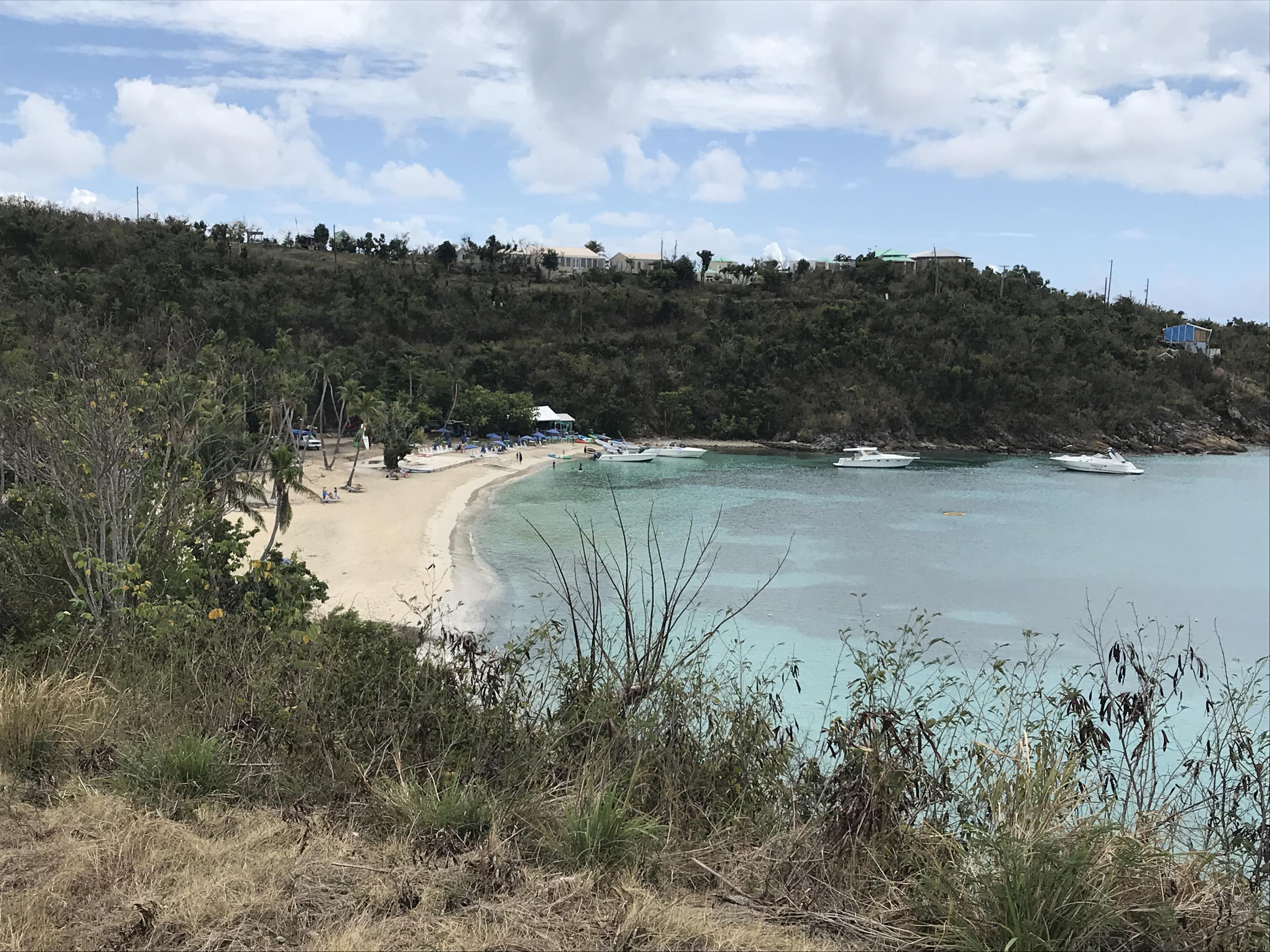 Honeymoon Beach - a stroll away