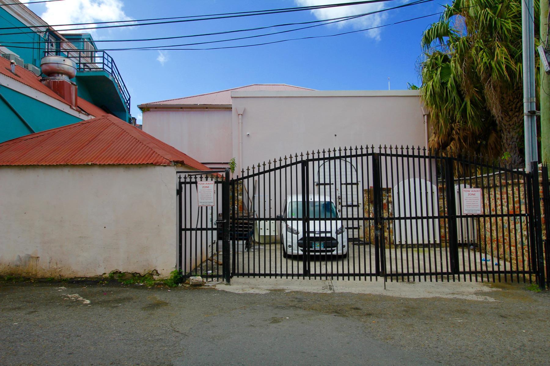 Back Street-gated parking