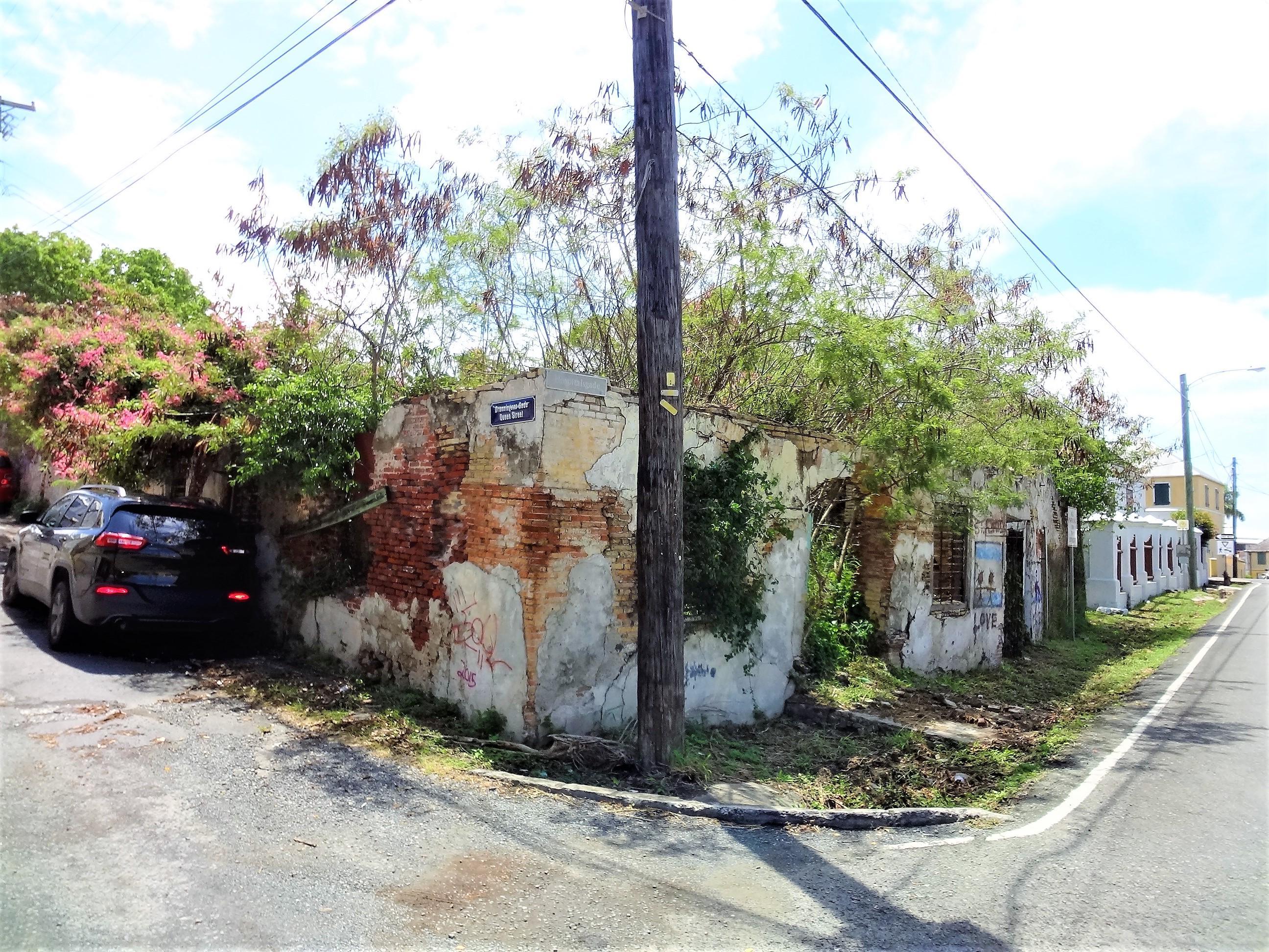 Corner of Property